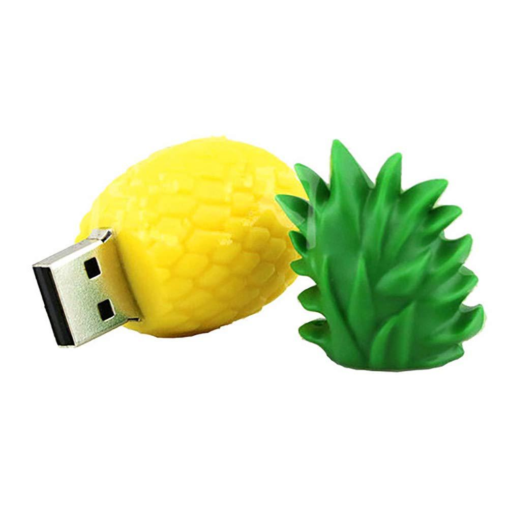 USB Flash Drive Pen Memory Stick for PC Computer 128GB FAgdsyigao 16GB 32GB 64GB 128GB Cartoon Avocado U Disk