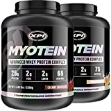Myotein Chocolate & Vanilla 5LB - Best Whey Protein Powder / Shake - Hydrolysate, Isolate, Concentrate & Micellar Casein