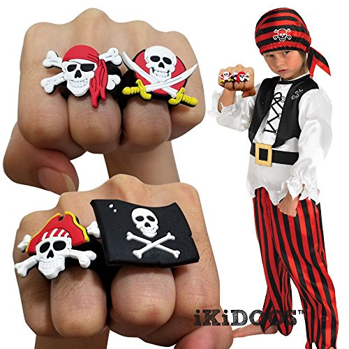 Armshield Pirate Rings for Kids 24pc Birthday Party