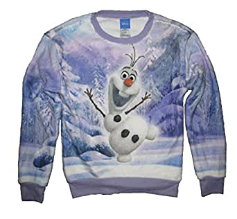 Amazon.com: Disney Frozen Olaf Girls Kids Long Sleeve