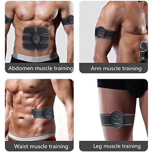 Muscle Toner, Efly Abdominal Toning Belt, EMS Abs Trainer ...