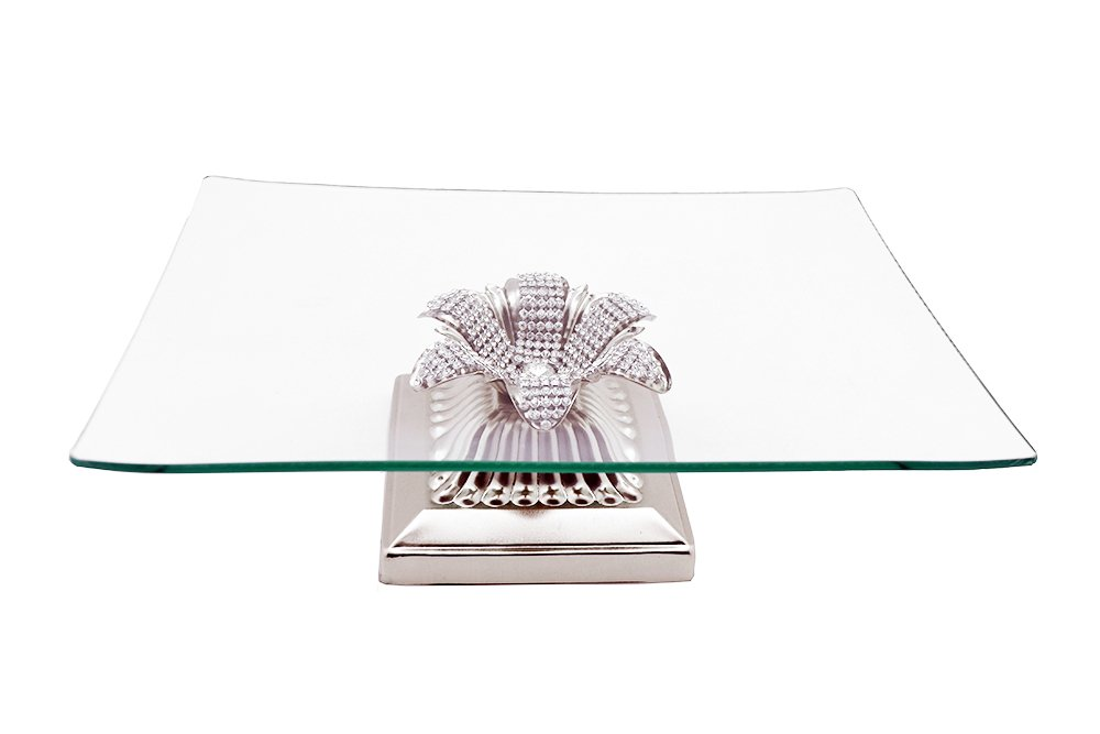 Three Star RS2620 Tiered Serving Platters Clear