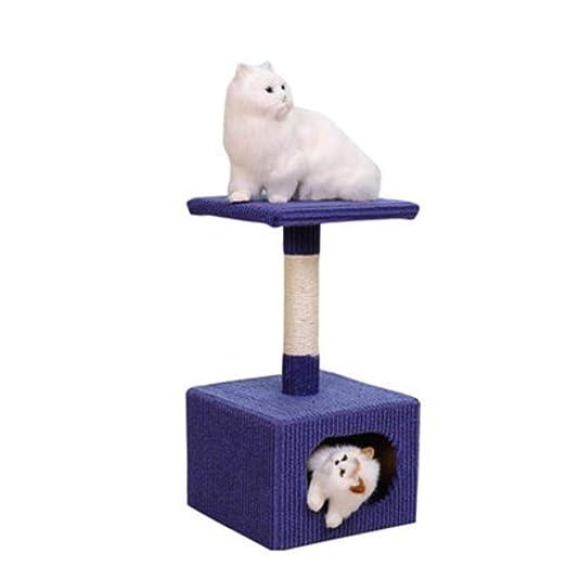 Meilandeng Árboles de Actividades para Gatos Gato Mascotas Mesa ...