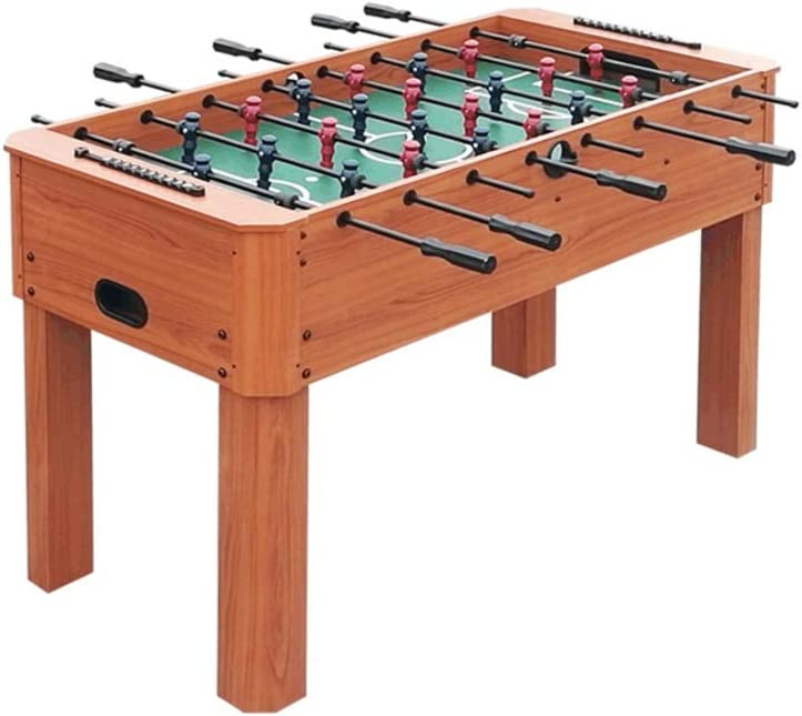 softneco 55 Inch Foosball Table Wooden,Competition Sized Tabletop Soccer Game for Home Party,Heavy Duty Football Table for Kids and Adult A