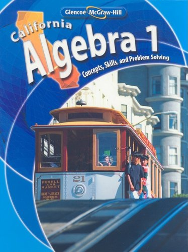 California Algebra: Concepts, Skills, and Problem - Hut 33
