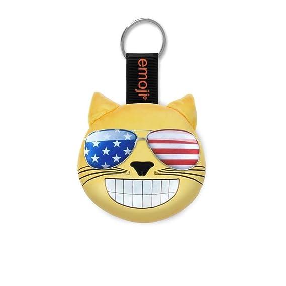 Emoji® Llavero USA Gafas De Sol Gato Oficial