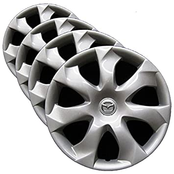 OEM Genuine Mazda Wheel Cover - 16-inch Factory Replacement Hubcap Fits 2014-2016 Mazda3 (Set of 4 Professionally Reconditioned Wheel Covers): Amazon.co.uk: ...