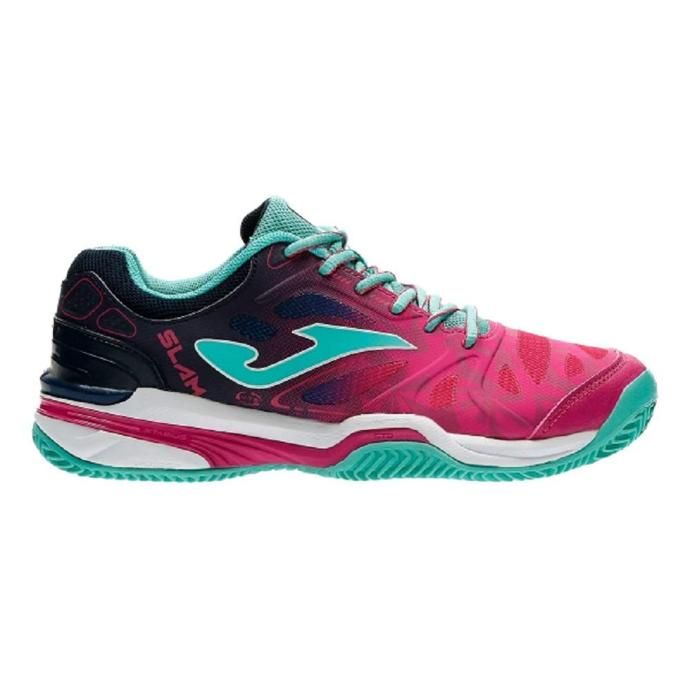Joma T.Slam Lady 810 Fuchsia Clay - T.SLALW-810 (38): Amazon.es ...