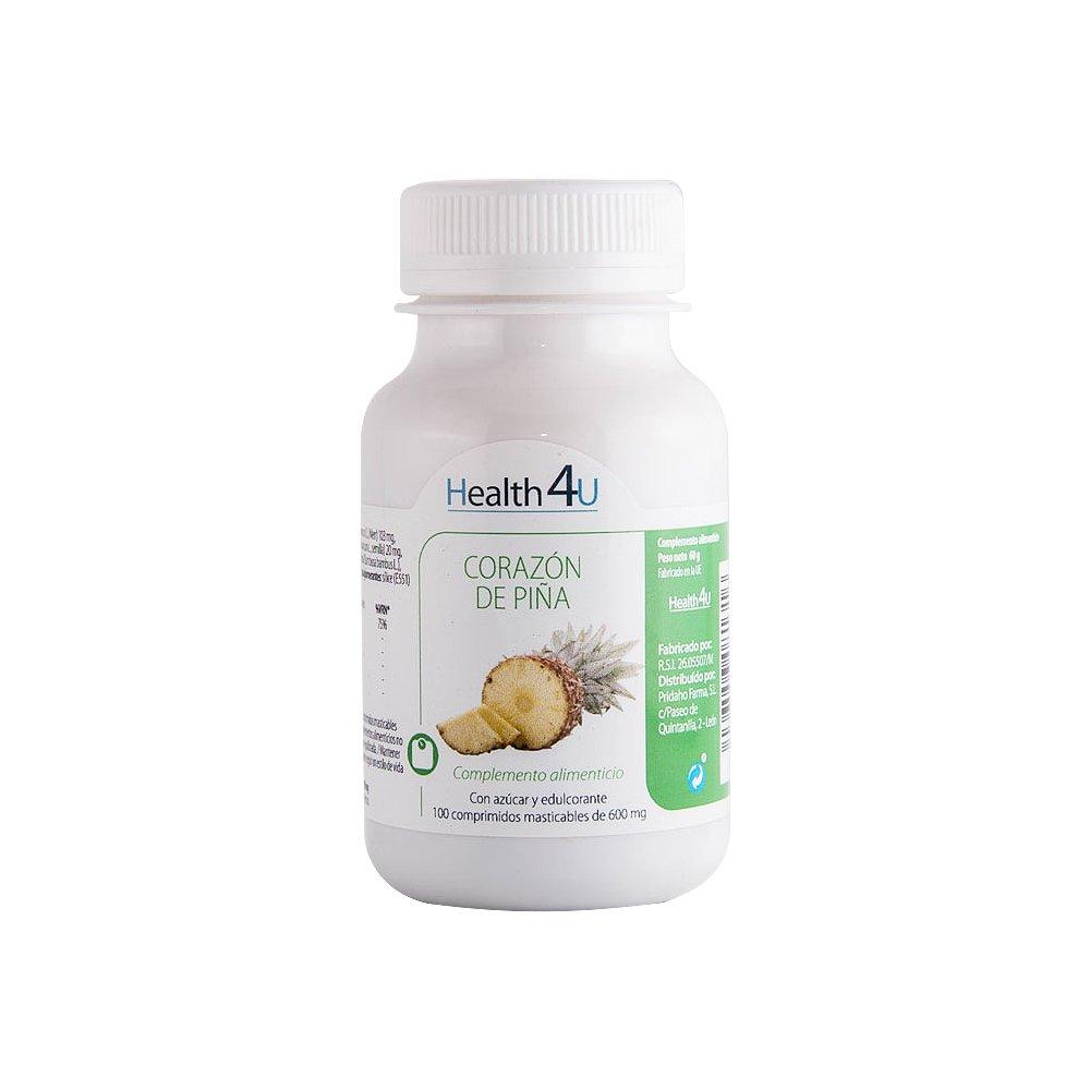 H4U Corazón de Piña - 3 Paquetes de 100 Cápsulas: Amazon.es: Salud y cuidado personal