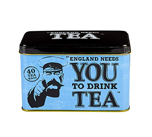 - New English Teas - World War I Memorabilia England Needs You Tea Tin Gift Caddy