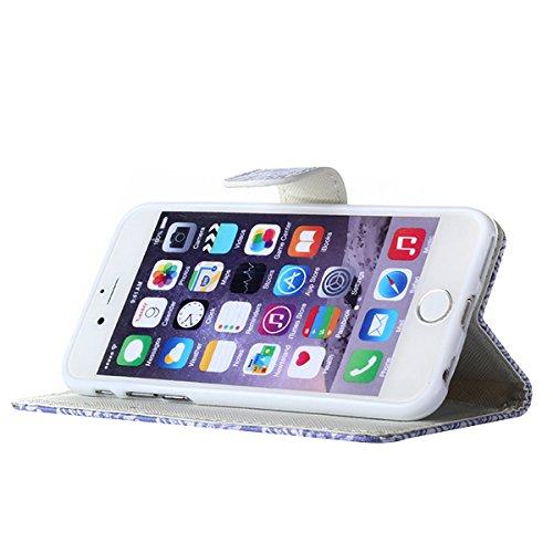 Ekakashop Coque de Apple iphone 5c Mode, Cute Animaux Design Flip Cover Case Cas Etui avec Support pour iphone 5c, Fermeture Magnetique Portefeuille Wallet Shell de Protection étui Couverture Housse e