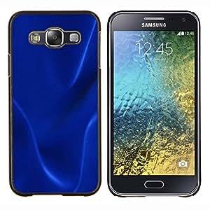 For Samsung Galaxy E5 E500 Case , Textura oscura azul- Diseño Patrón Teléfono Caso Cubierta Case Bumper Duro Protección Case Cover Funda