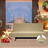 Easy-Going Stretch Futon Slipcover Armless Sofa