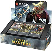 Magic: The Gathering Double Masters Draft Booster (24 Packs) & 2 Box Top