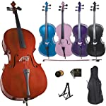 Yamaha Standard Model AVC5 cello outfit 3/4 Size 1