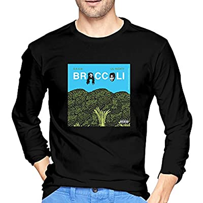Men's Broccoli D.R.A.M. Feat. Lil Yachty Funny Long Sleeve T Shirt
