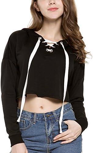 تاپ های برش دار کت کوتاه زنانه ، بند کش سیاه ، X-Large