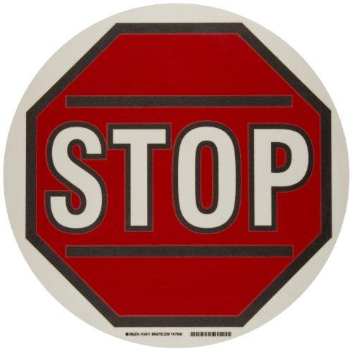 Tape Marking Red Aisle (Brady ToughStripe Nonabrasive Floor Marking Tape, 17