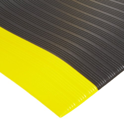 - NoTrax 410 PVC Airug Safety/Anti-Fatigue Floor Mat, for Dry Areas, 2' Width x 3' Length x 3/8