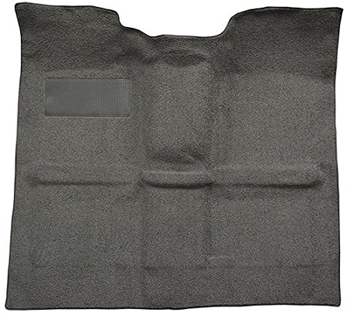 1967 to 1972 Chevrolet Standard Cab Pickup Truck Carpet Custom Molded Replacement Kit, 400 Transmission, High Tunnel, Gas Tank Removed (501-Black 80/20 Loop)