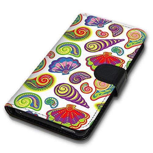 Wallet Book Style Flip Handy Tasche Case Schutz Hülle Schale Motiv Etui für Apple iPhone 6 Plus / 6S Plus - Design Flip MVD155