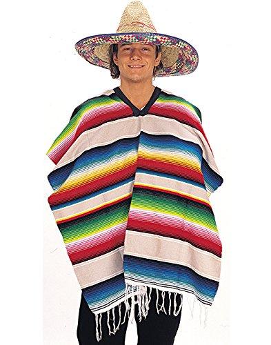 Rubie's Costume Co Mexican Serape (Poncho) Costume Accessory