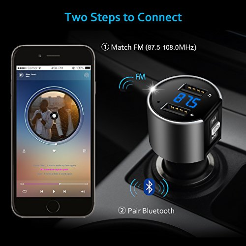 Review Comsoon Bluetooth FM Transmitter,