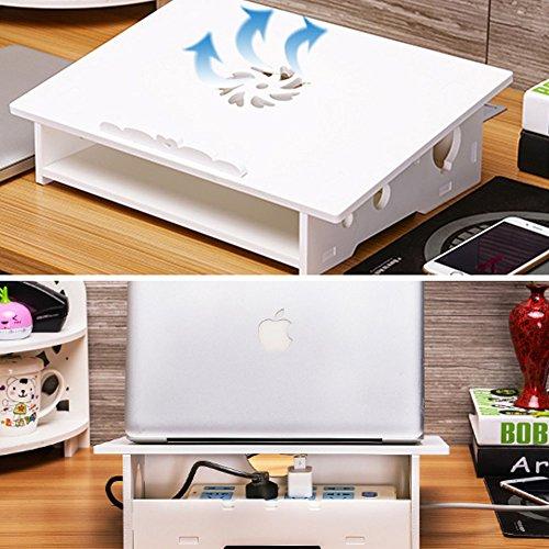 Delicate Lzttyee Wood Plastic Composites Notebook Laptop Stand Desk