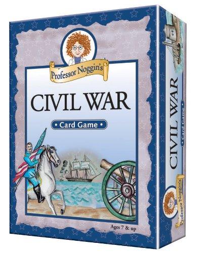 Educational Trivia Card Game - Professor Noggin's Civil War (Best Civil War Board Games)
