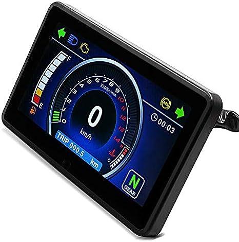 Tacómetro Digital Hi-Tech para Ducati 999, 998, 996, 1299/1199 Panigale/S, 848 / EVO, 959/899 Panigale, Hypermotard 1100/ EVO, Monster 1000/1100 / EVO