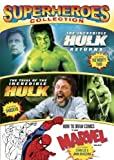 Superheroes Collection (The Incredible Hulk Returns / Trial of the Incredible Hulk / How to Draw Comics) by IMAGE ENTERTAINMENT by Nicholas Corea, Jim Gates Bill Bixby