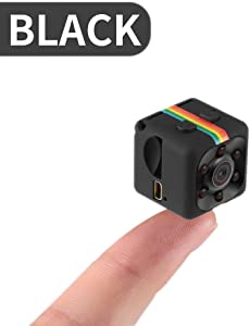 Peyan SQ11 Mini Camera HD 1080P/480P Night Vision Camcorder Car DVR Infrared Video Recorder Sport Digital Camera Support TF Card DV Camera for Home and Office