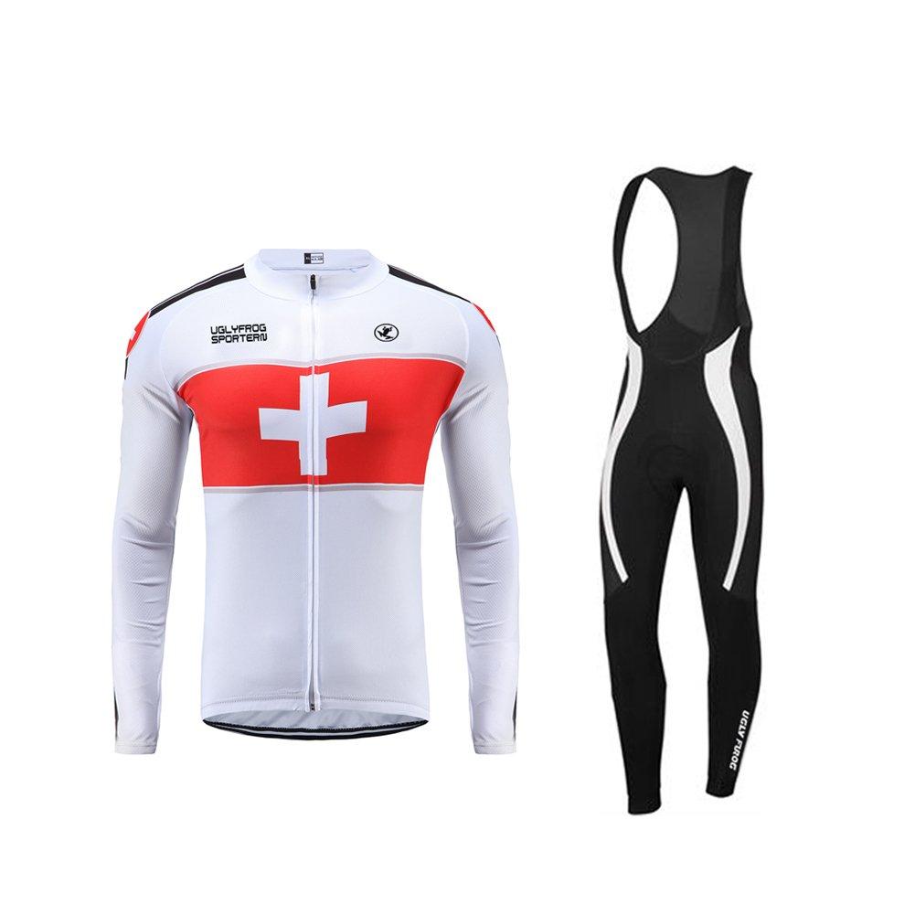 Uglyfrog Sporternメンズアウトドアスポーツサイクリング半袖サイクルジャージバイクウェア自転車シャツ B074C6M8BL  カラー32 color 32 4L