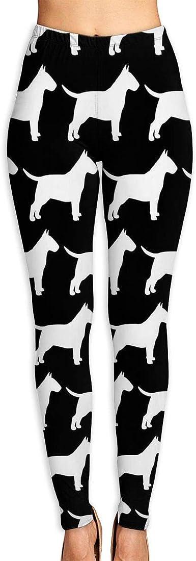 Bull Terrier Dog Leggings Fitness Leggings Jogging Leggings Dog Mom Leggings Stubborn Bull Terrier Tricks Yoga Pants Runner Pants