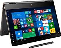 HP Spectre x360 15.6 Inch Convertible Laptop (2.7 GHz Intel Core i7-7500U, 16 GB SDRAM, 512 GB SSD, Windows 10 Home 64), Dark Ash Silver
