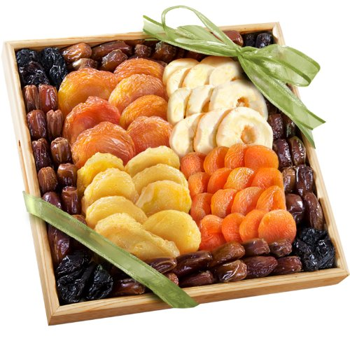 Mosaic Dried Fruit Gift Tray by Golden State Fruit