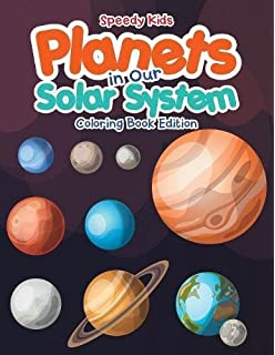 Color Your Way Through the Planets Coloring Book: Activity Book Zone ...