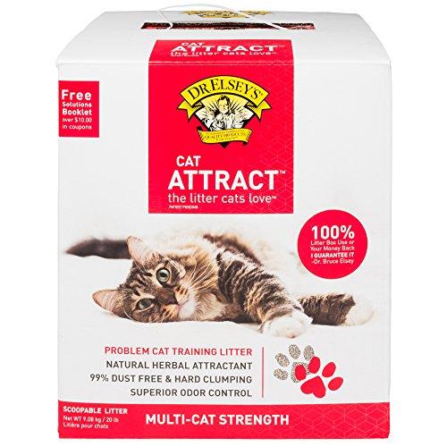 Elseys Cat Litter Attract (Dr. Elsey's Precious Cat, Attract Training Cat Litter, 20 Lb.)
