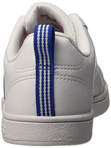 adidas Vs Advantage K, Zapatillas de Deporte Unisex Bebé Blanco / Azul / Rojo (Ftwbla / Azul / Rojpot)