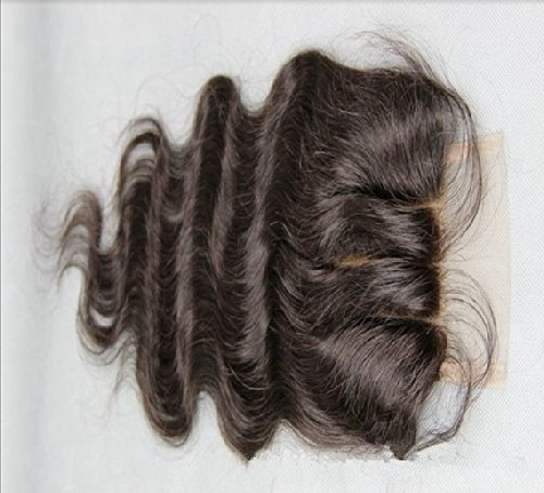 """3 Part 4*4 Lace Front Top Closure 12"""" Malaysian Virgin Remy Hair Body Wave Trademark:Hairpr"""