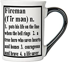 Tumbleweed 'Fireman' Definition Stoneware Coffee Mug