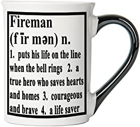 Tumbleweed 'Fireman' Definition Stoneware Coffee Mug