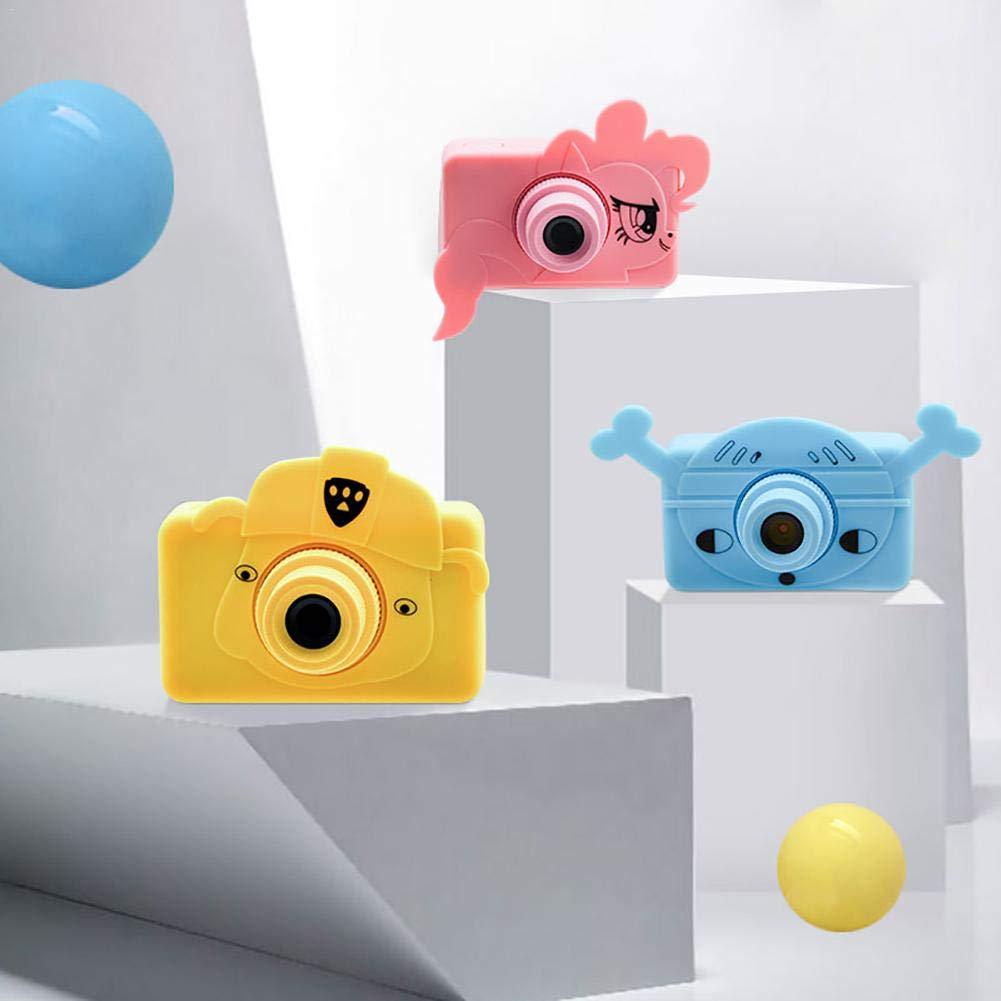 telisii 1080P HD Children's Camera-2 inch Color Screen Anti-Shake Children's Camera,Maximum Memory Children's Camera,Mini Kids Digital Camera by telisii (Image #5)