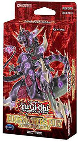 Yugioh-DINOSMASHERS-FURY-2017-English-Structure-Deck-43-Cards