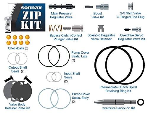 Sonnax AODE4R75EZIP Zip Kit 4R70W AODE 4R75E Transmaxx