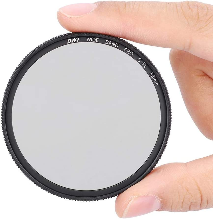 Serounder Camera CPL Filter,Photography 58mm//67mm Ultra Slim Optical Glass Circular Pole Lens Filter with Filter Box for Shooting 67MM