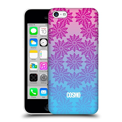 Official Cosmopolitan Ombre 3 Floral Patterns Hard Back Case for Apple iPhone 5c