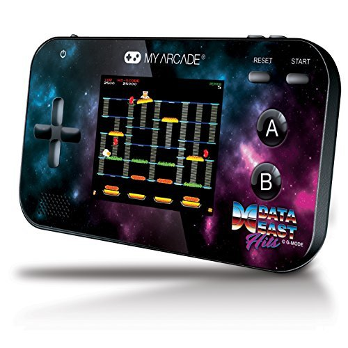 My Arcade Gamer V Portable Handheld with Data East Classics - BurgerTime, Bad Dudes, Karate Champ and more! by DreamGear