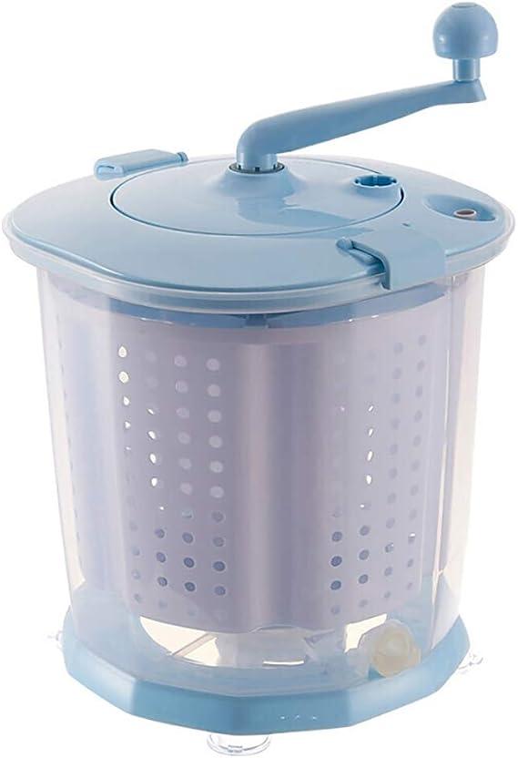 Amazon.com: DIOE - Lavadora manual portátil con manivela, no ...