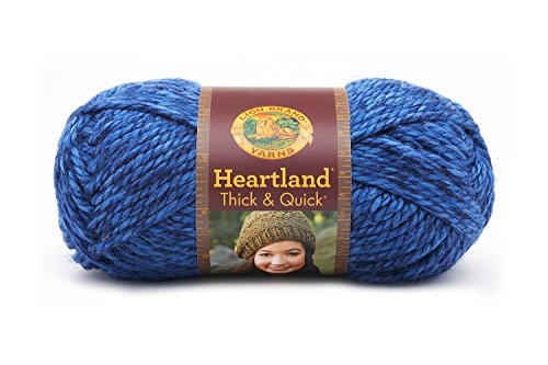 Lion Brand Yarn 137-109 Heartland Thick and Quick Yarn, Olym